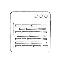 source page programming development web data vector image vector image
