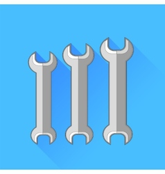 Wrenches vector image