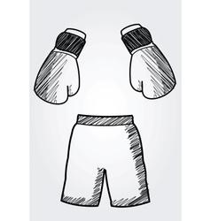 hand drawn box equipment vector image
