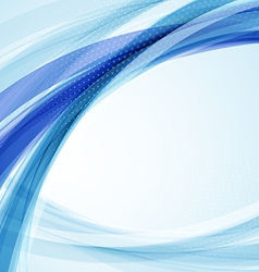 Abstract colorful wave background Futuristic vector image
