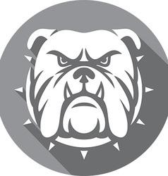 Bulldog Icon vector image