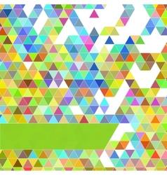 polygonal design geometrical background vector image