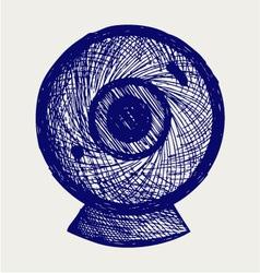 Webcam vector image vector image