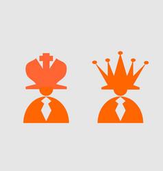 business leadership metaphor vector image