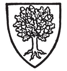 Cheyndut is a 13th century knight bore an oak vector