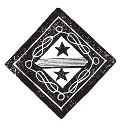 Funeral achievement image shows the hatchment of vector