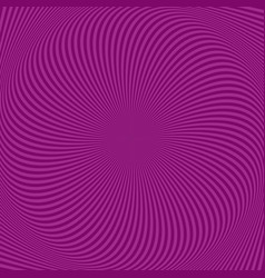 Psychedelic spiral stripe background vector