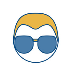 Sunglasses icon image vector