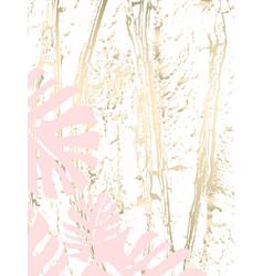 Vintage tropical worn pattern vector
