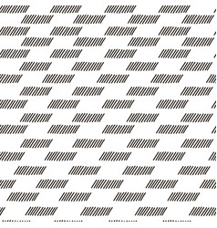 abstract geometric fashion design print vector image vector image