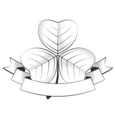 shamrock vector image vector image