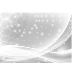 gray and white abstract background with light and vector image vector image