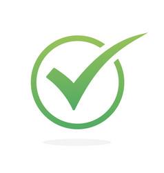 check icon check mark icon check list vector image