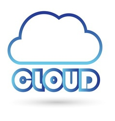 cloud3 resize vector image