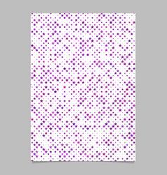 Geometrical star pattern background brochure vector