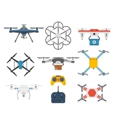 Quadcopter set vector