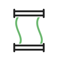 Scroll of Paper vector image