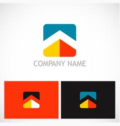 square home rocompany logo vector image