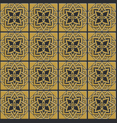 bronze seamless pattern vector image