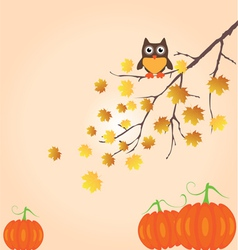 Fall Branch vector image vector image