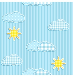 sky pattern vector image