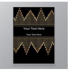 art novo page template luxury elegante texture vector image