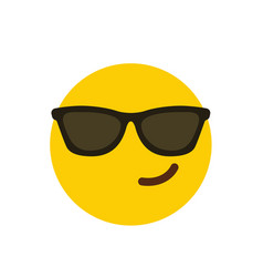 Attitude emoji icon design vector