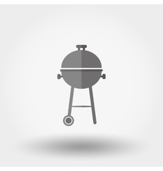 BBQ icon vector image vector image