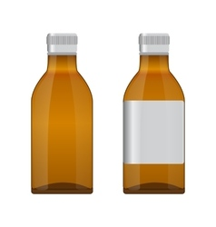 Botteles Medicine vector