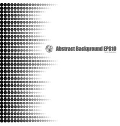 gradient dot seamless background vector image