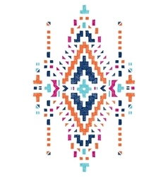 Hand drawn tribal design vector