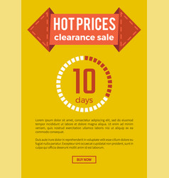 Hot prices clearance sale on vector