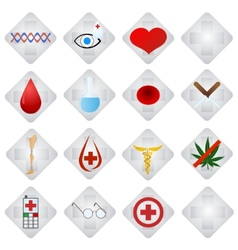 Set of medical icons-1 vector image