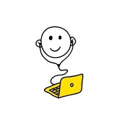 Web icon webinar vector image vector image