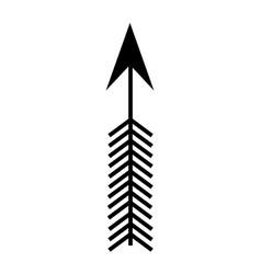 arrow boho style icon vector image