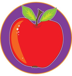 apple graphic vector image