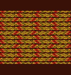 Autumn pattern seamless background leaf vector