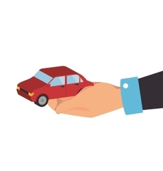 Car hand vehicle vector