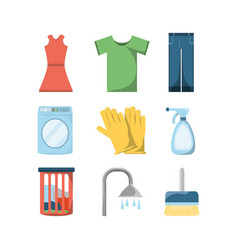 cleaning service design vector image