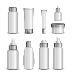 Cosmetics Packaging Set vector
