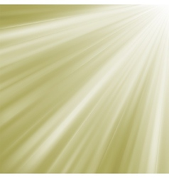 Elegant burst on a path of golden light EPS 8 vector