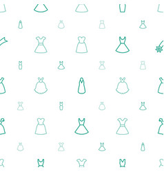 Evening icons pattern seamless white background vector