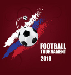 football tournament vector image