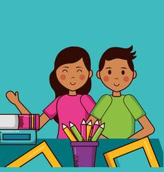 people teachers day vector image