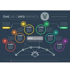 Presentation slide template or business vector