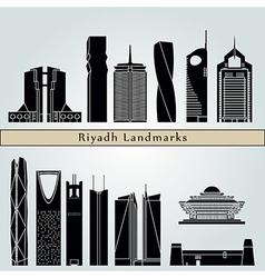 Riyadh V2 landmarks and monuments vector