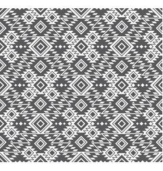 seamless geometric tribal ethnic pattern vector image