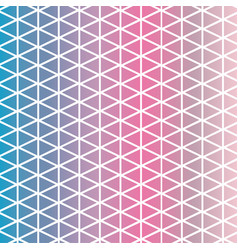 Six color chalky pastel triangles pattern texture vector