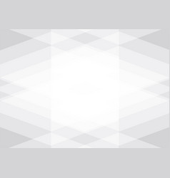 White and gray color abstract geometric on vector