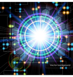 Abstract technology internet high computer vector image